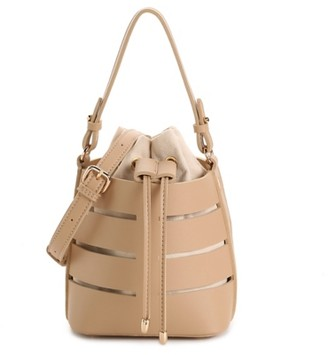Urban Expressions Mini Cut Out Bucket Bag