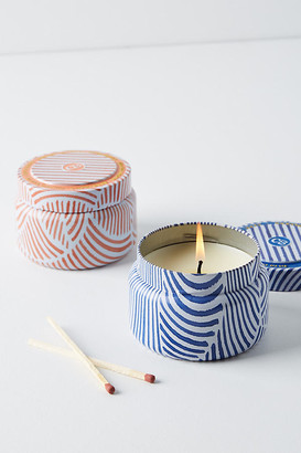 Capri Blue Candle Tin By in Blue Size ALL