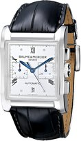 Baume & Mercier Men's BMMOA10032 Hampton Milleis Analog Display Swiss Automatic Black Watch