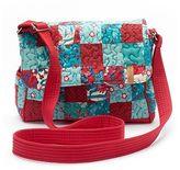 Donna Sharp Pauline Quilted Patchwork Messenger Bag