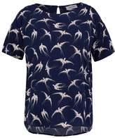 Modstrom Print Tshirt dark blue
