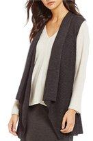 Eileen Fisher Shawl Collar Vest