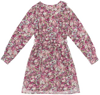 Bonpoint Floral cotton-poplin dress