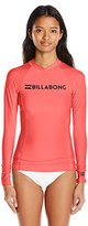 Billabong Women's Surf Dayz Wetshirt Long Sleeve Rashguard