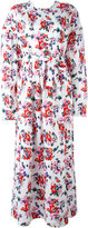 MSGM floral print maxi dress - women - Cotton - 40