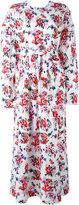 MSGM floral print maxi dress - women - Cotton - 42