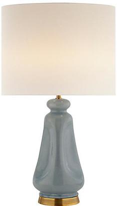 AERIN Kapila Table Lamp - Polar Blue Crackle