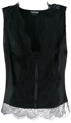 Tom Ford stretch lace tank top