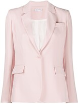 P.A.R.O.S.H. fitted single button blazer