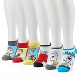Women's 6-pk. Peanuts No-Show Socks
