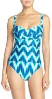 LaBlanca Women's La Blanca 'Sweetheart - New Wavy' One-Piece Swimsuit