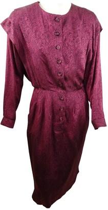 Jean Louis Scherrer Jean-louis Scherrer Silk Dress for Women Vintage