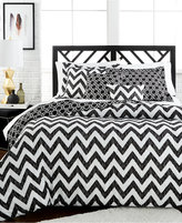 Jessica Sanders Etched Chevron 5-Pc. Reversible Full Comforter Set