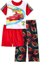 Disney Disney's Cars 3-Pc. Lightning McQueen Pajama Set, Toddler Boys