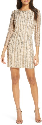 Pisarro Nights Beaded Cocktail Dress