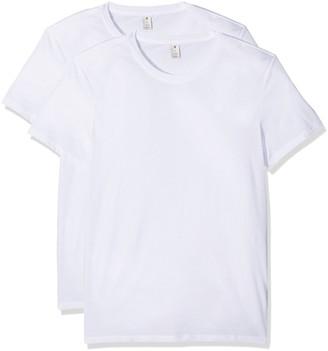 G Star Men's Base Heather Round Neck Tee Short Sleeve 2-Pack