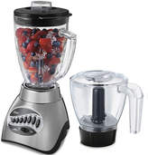 Oster 16-Speed Blender with Food Processor Attachment