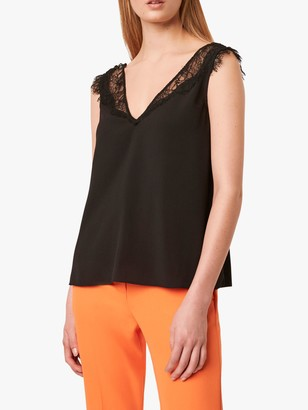 French Connection Chioma Lace Top