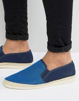 Dune Flipper Slip On Espadrilles