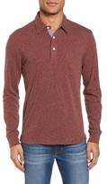 Faherty Men's Long Sleeve Polo