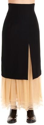 Comme des Garcons X Noir Kei Ninomiya Layered Skirt