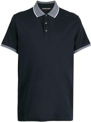 Michael Kors Contrast-Trimmed Polo Shirt