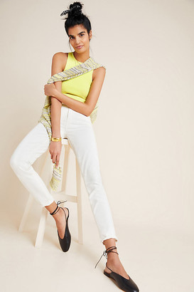 Paige Hoxton High-Rise Skinny Jeans By in White Size 25