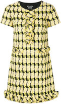 Moschino shortsleeved tweed dress - women - Cotton/Acrylic/Polyamide/other fibers - 38