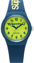 Superdry 3 Hands; Lime Green Dial
