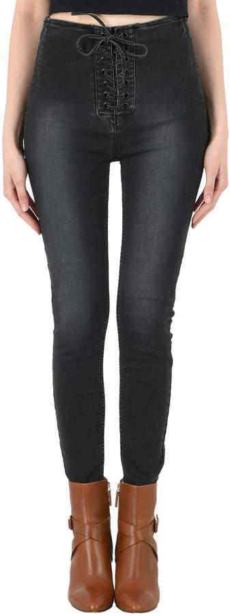 Free People Denim pants - Item 42667393