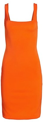 Alice + Olivia Addie Midi Sheath Dress