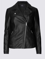 Marks and Spencer PU Biker Jacket