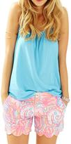 Lilly Pulitzer Buttercup Scallop Short