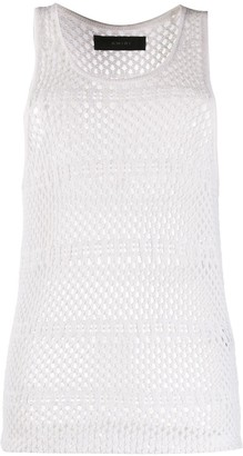 Amiri Perforated Vest