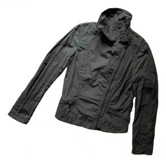 ADD Green Cotton Jacket for Women