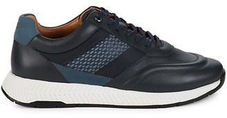 HUGO BOSS Men's Titanium Runn Sneakers