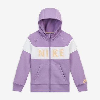 Nike Big Kids' (Girls') Graphic Full-Zip Hoodie Sportswear