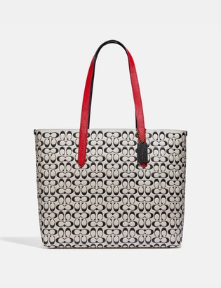 Coach Highline Tote In Signature Leather
