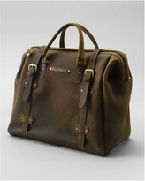 Eddie Bauer Packhorse Leather Safari Bag