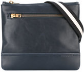 Bally striped strap messenger bag - men - Calf Leather - One Size