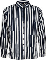 Sunnei Classic Fit Striped Shirt