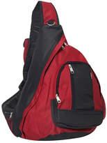 Everest Sling Bag (Set of 2) - Burgundy/Black Backpacks