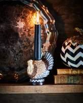 Mackenzie Childs MacKenzie-Childs Autumn Harvest Turkey Candlestick