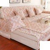 HDVHXVHJWCXHXF uropan-styl Sofa Cushion In Summr/Anti-skidding ,Simpl Modrn,All-inclusiv Sofa Towl/Sofa Sts Of Hood/Cushion