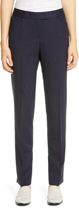 Lafayette 148 New York Irving Skinny Stretch Wool Pants