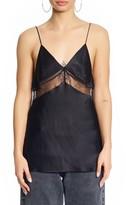KENDALL + KYLIE Women's Lace & Silk Tank