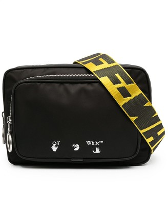 Off-White OW logo-print crossbody bag