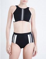 Jets Optima high-neck bikini top