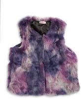 Design History Girls 7-16 Faux Fur Vest