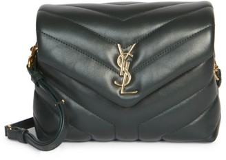 Saint Laurent Small Loulou Matelasse Leather Crossbody Bag